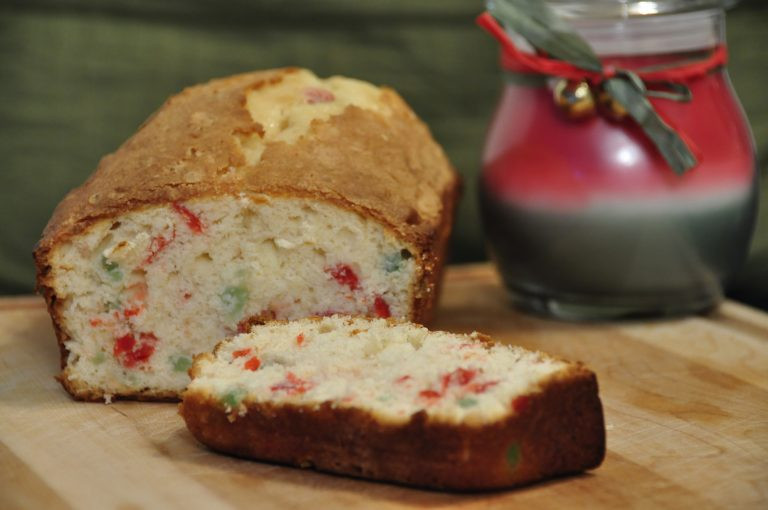Christmas Pound Cake Recipe  Festive Cherry Pound Cake