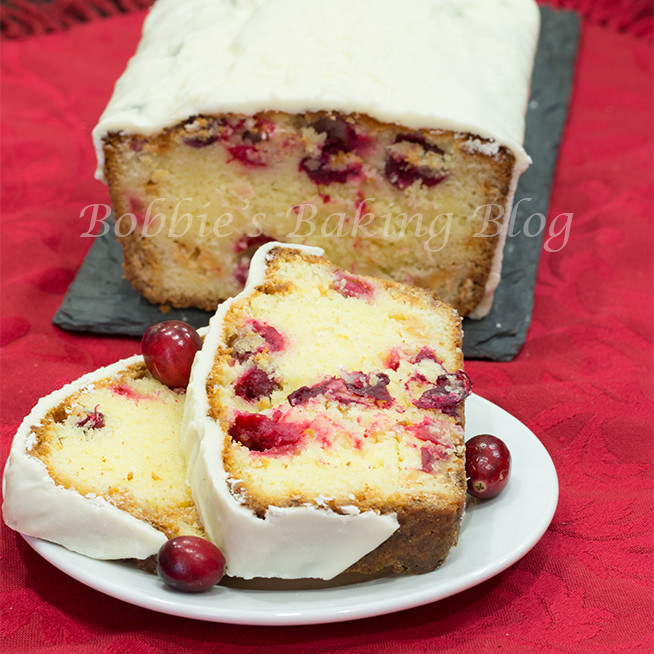 Christmas Pound Cake Recipe  Christmas Cranberry Pound Cake