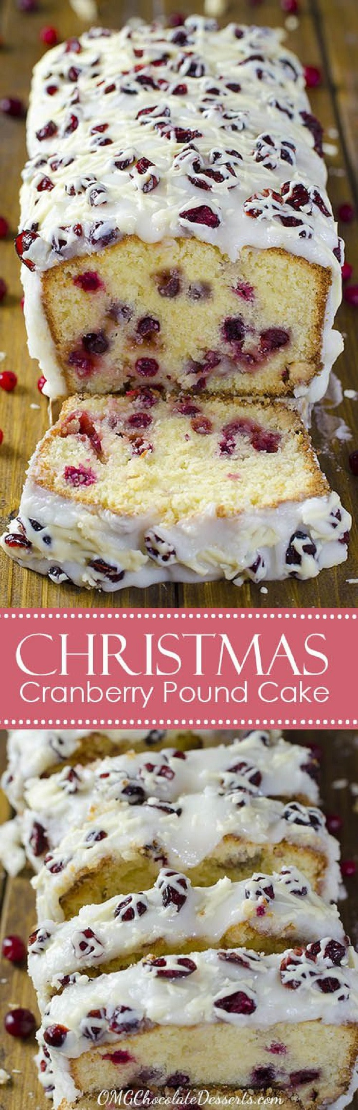 Christmas Pound Cake Recipe  16 Symbolic Cranberry Christmas Cakes to Satisfy Everyone
