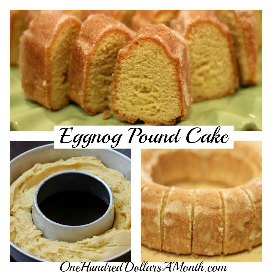 Christmas Pound Cake Recipe  Christmas Dessert Recipes Eggnog Pound Cake e