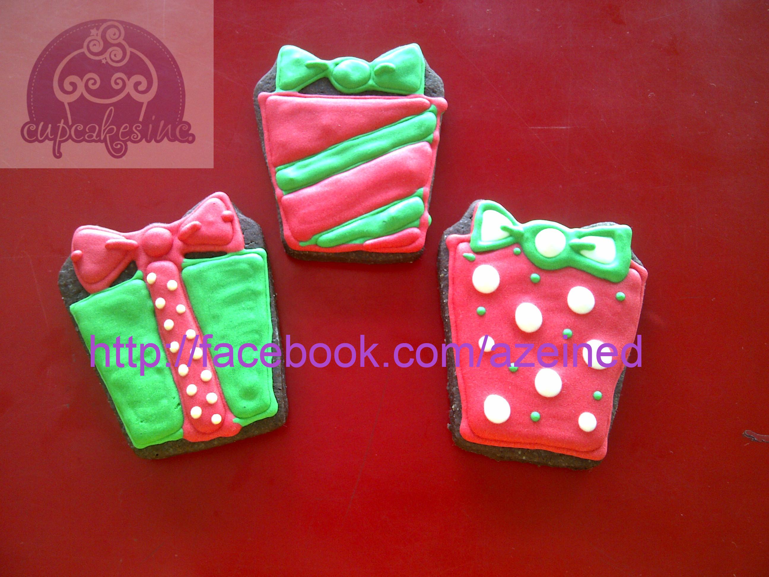 Christmas Present Cookies  Christmas Sugar Cookies