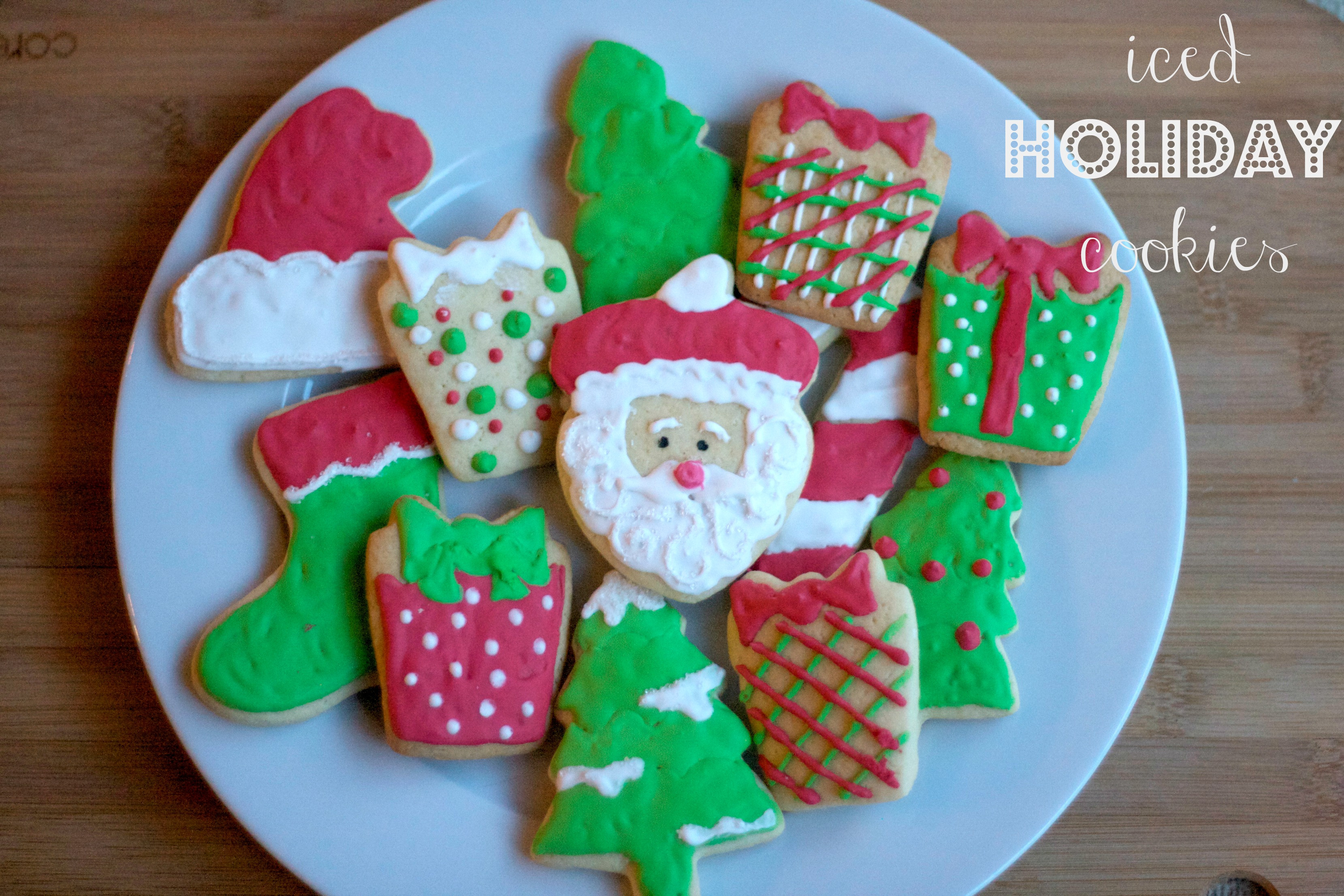 Christmas Present Cookies  Lessons in cookie decorating