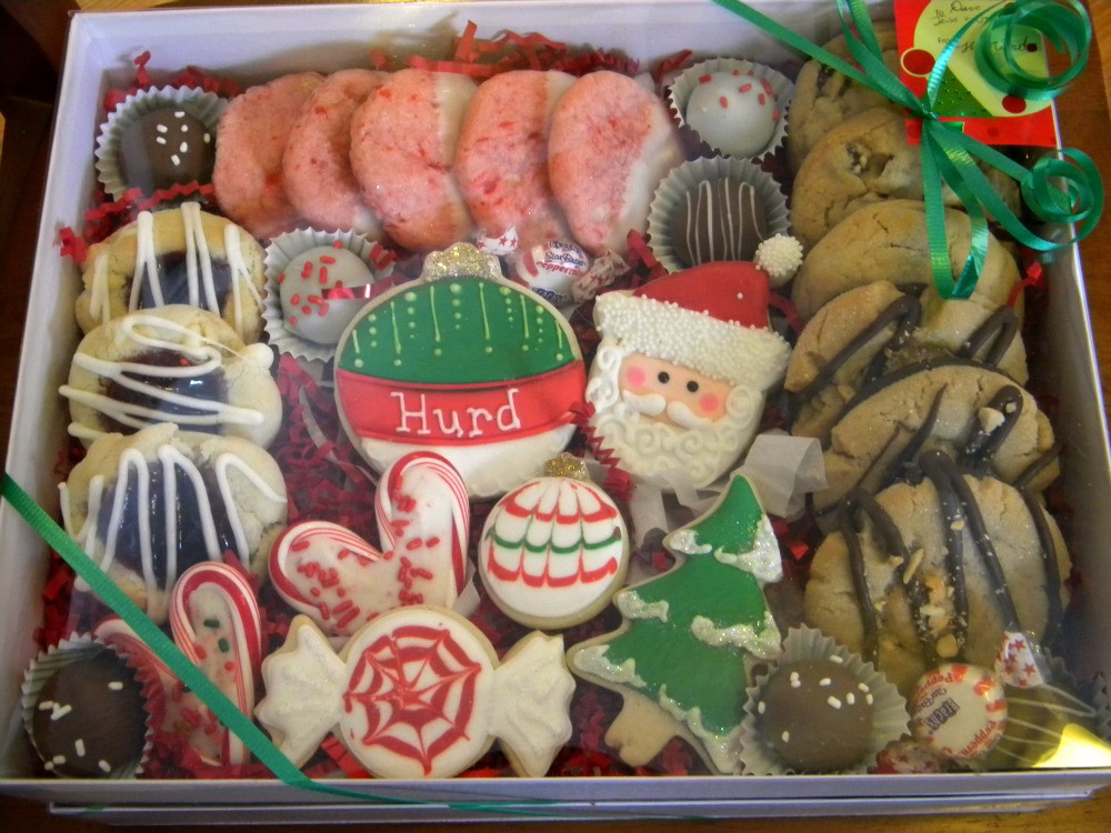 Christmas Present Cookies  Occasional Cookies Christmas Gift Boxes
