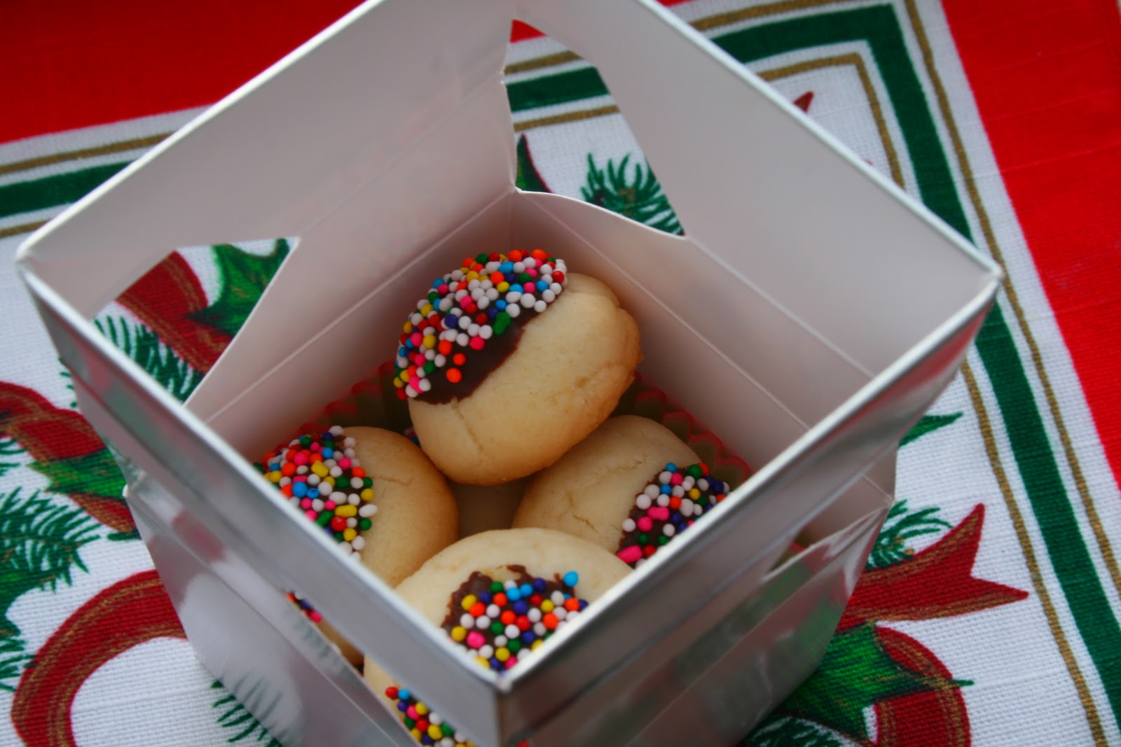 Christmas Present Cookies  The Nesting Corral Homemade Christmas Gifts Cookies Boxes