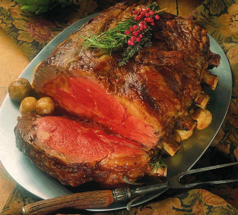 Christmas Prime Rib Recipe  Holiday Recipes Horseradish Crusted Prime Rib of Beef