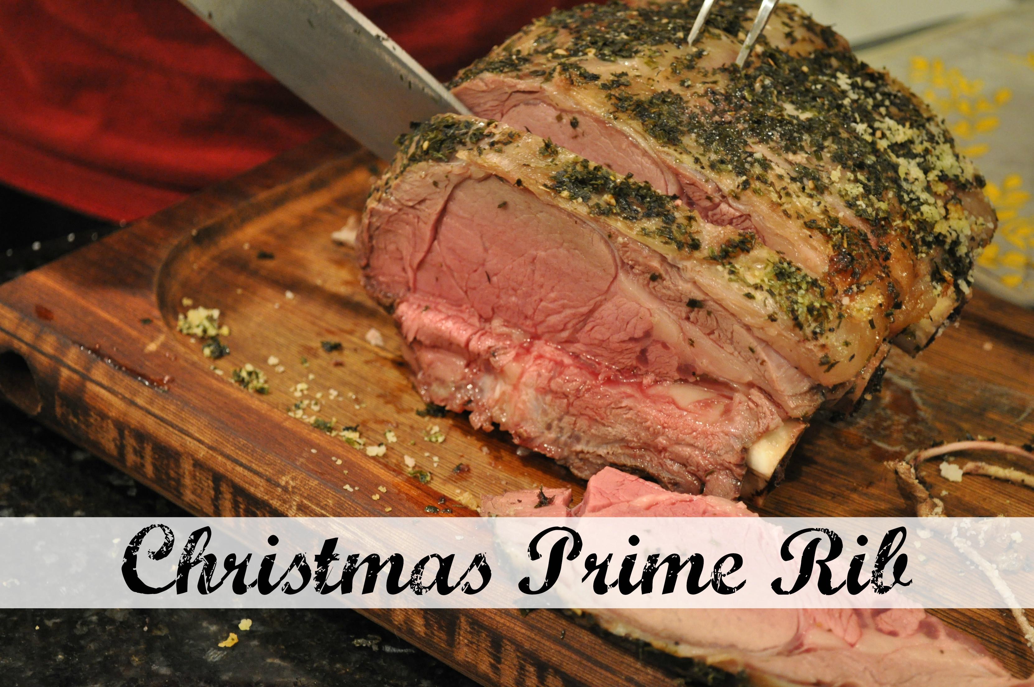 Christmas Prime Rib Recipe  Christmas Prime Rib