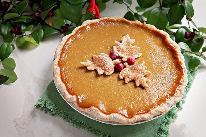 Christmas Pumpkin Pie  Macrina Bakery