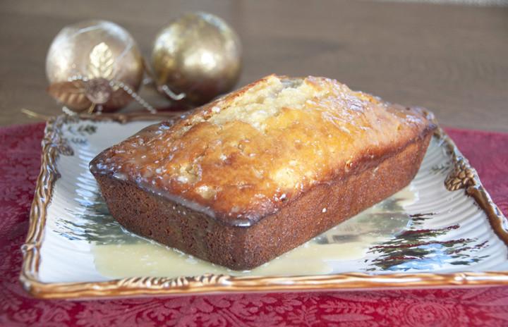 Christmas Quick Bread Recipes  Orange Glazed Eggnog Quick Bread