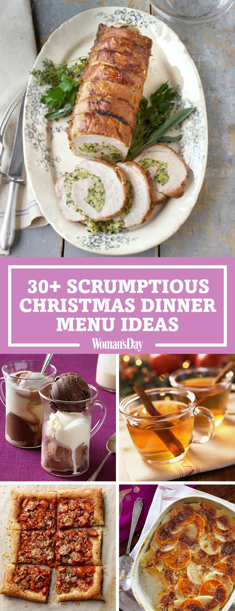 Christmas Recipes Dinner  Best Christmas Dinner Menu Ideas for 2017