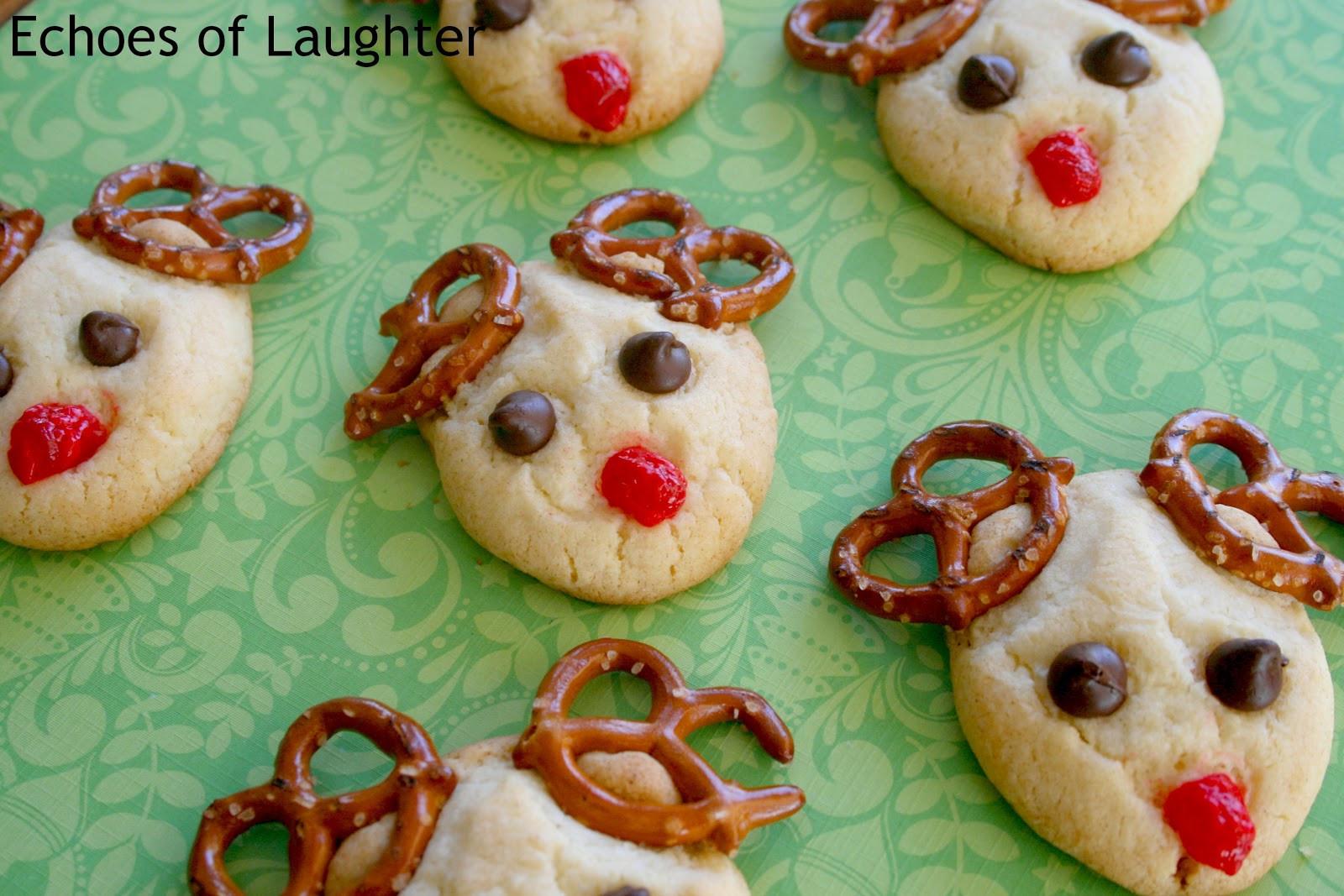 Christmas Reindeer Cookies  13 Easy Christmas Cookies Echoes of Laughter