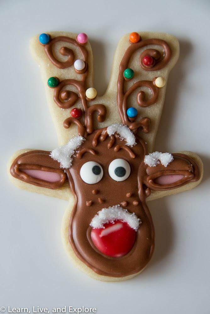 Christmas Reindeer Cookies  Christmas Reindeer Cookies Learn Live and Explore