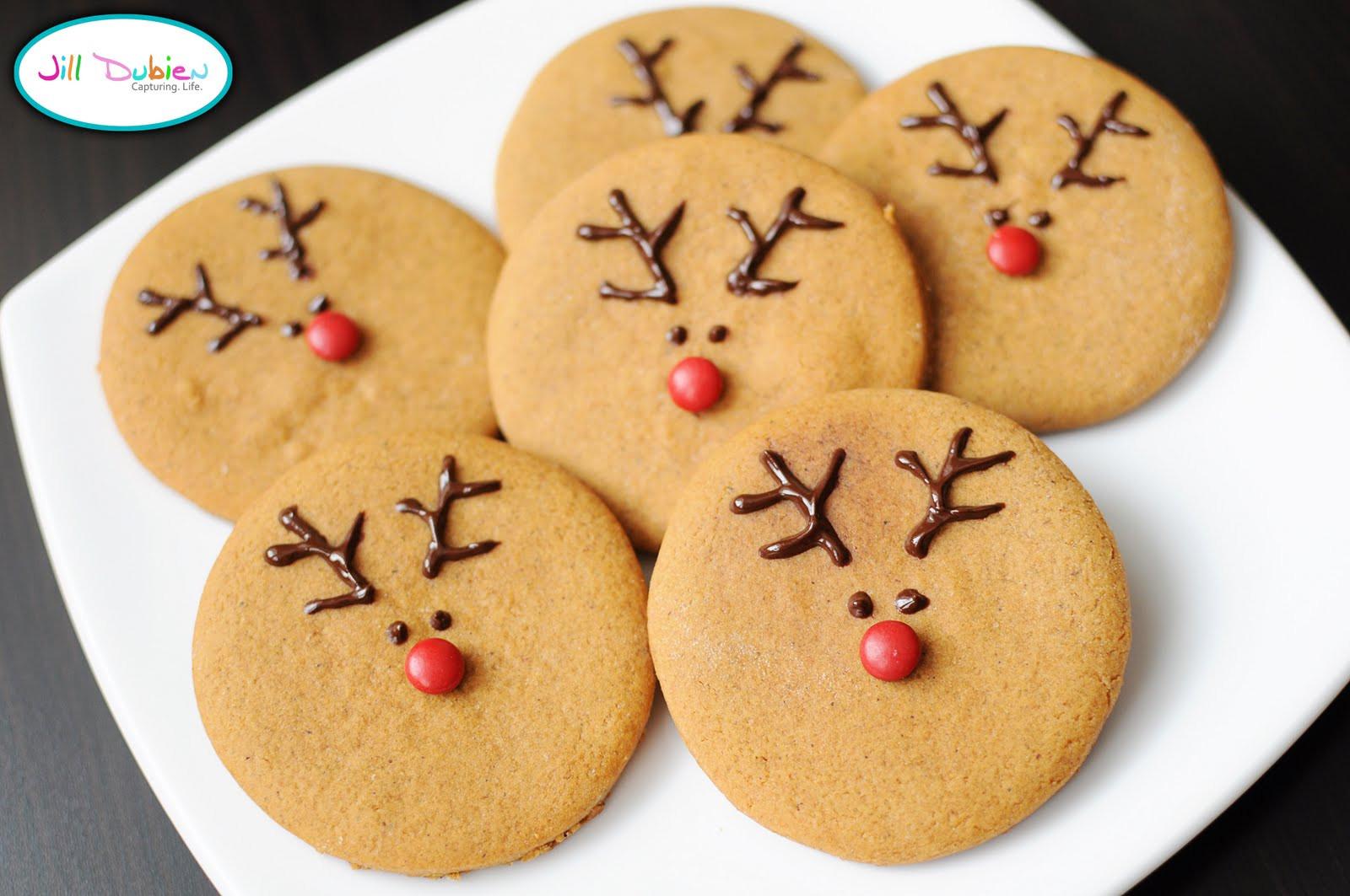 Christmas Reindeer Cookies  Cute Food For Kids 37 Edible Reindeer Crafts