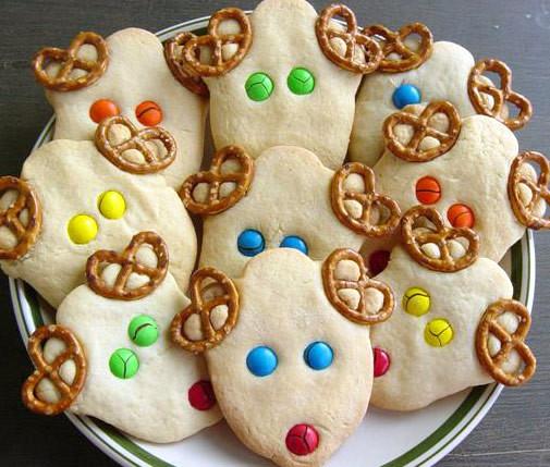 Christmas Reindeer Cookies  Christmas Reindeer Cookies Ideas