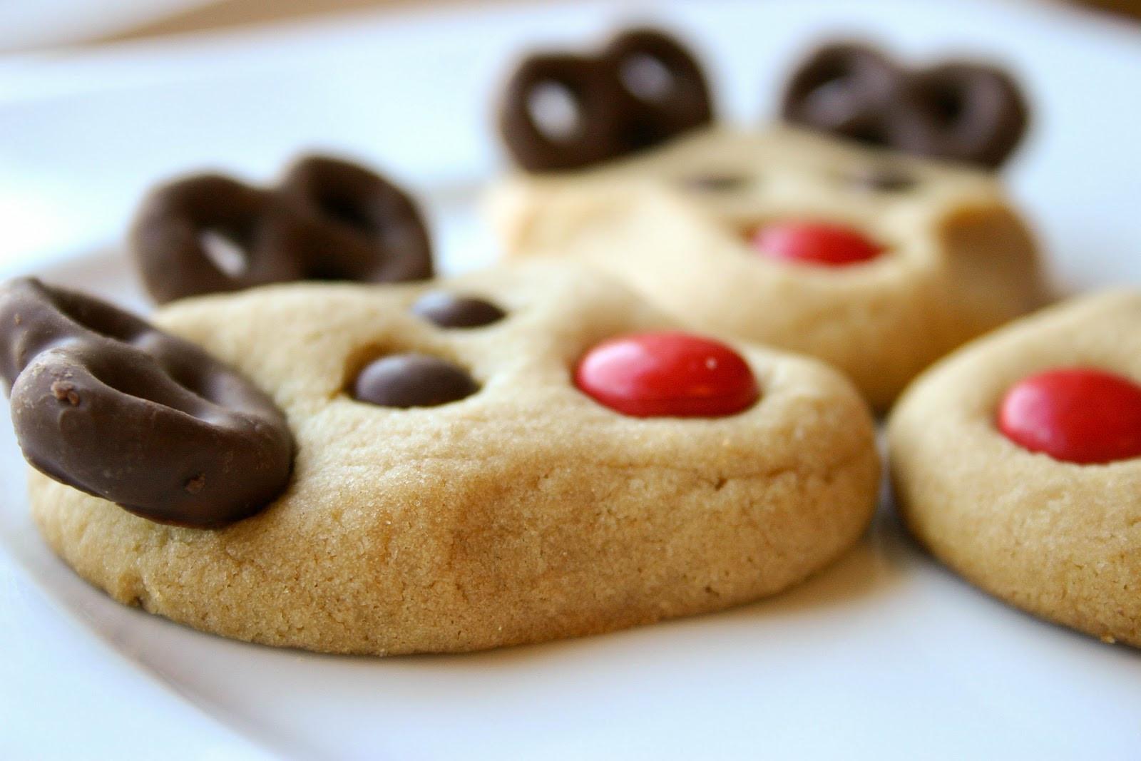 Christmas Reindeer Cookies  Reindeer Cookies Recipe