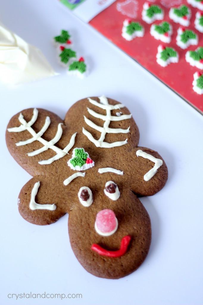 Christmas Reindeer Cookies  Reindeer Cookies