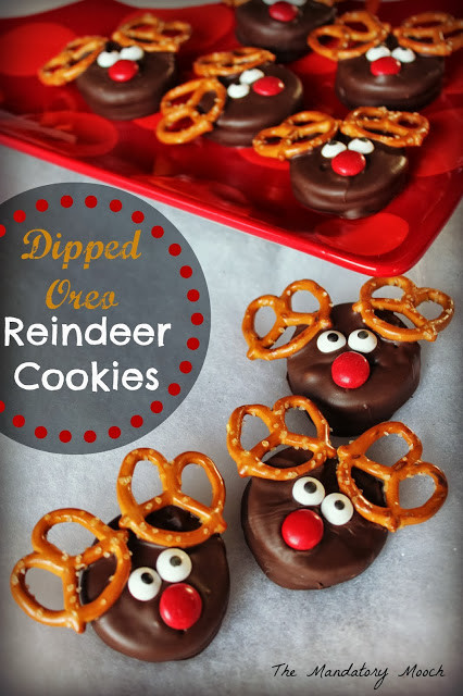 Christmas Reindeer Cookies  the 12th Day of Bloggy Christmas Miss Nichi gave to me