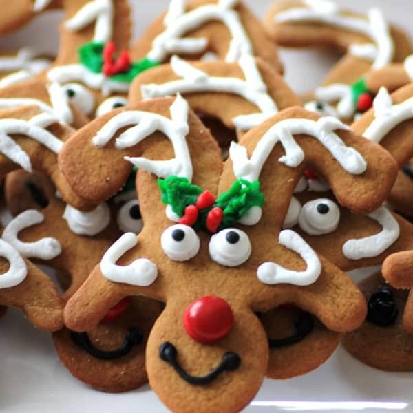 Christmas Reindeer Cookies  26 Freezable Christmas Cookie Recipes