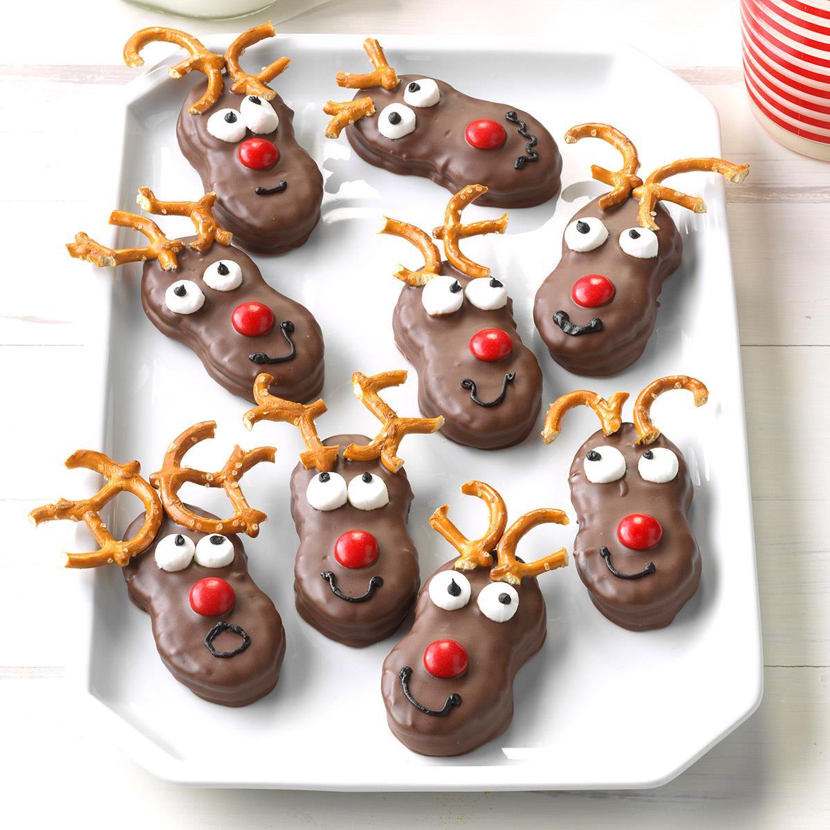 Christmas Reindeer Cookies  Holiday Reindeer Cookies Recipe