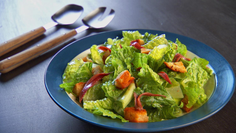 Christmas Salads Martha Stewart  Luca s Caesar Salad Recipe & Video