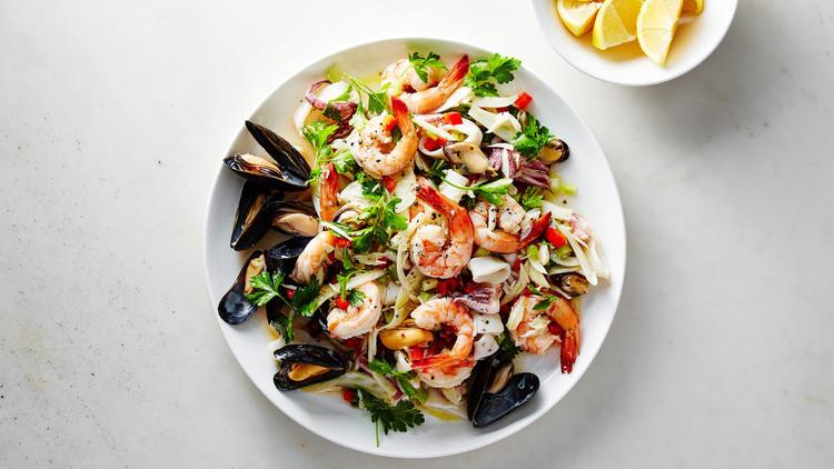 Christmas Salads Martha Stewart  Italian Seafood Salad
