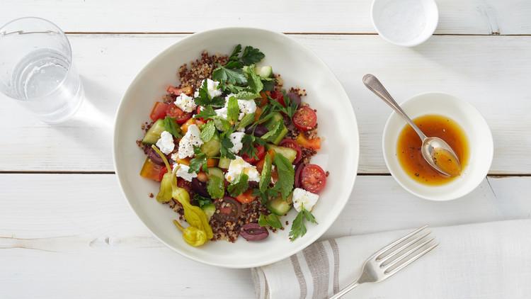 Christmas Salads Martha Stewart  Greek Quinoa Salad