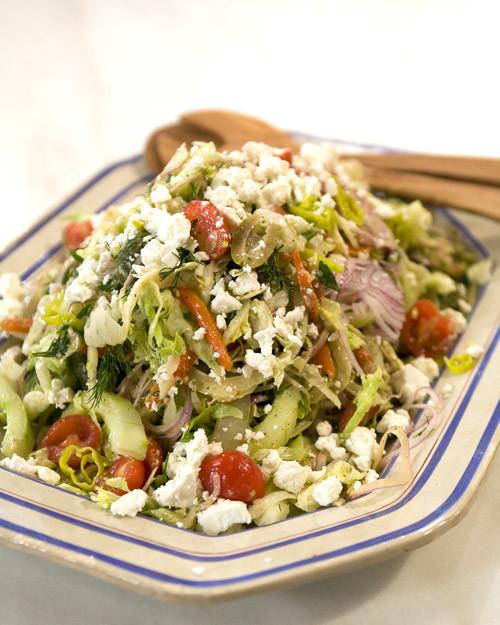 Christmas Salads Martha Stewart  Red Wine and Feta Vinaigrette Recipe