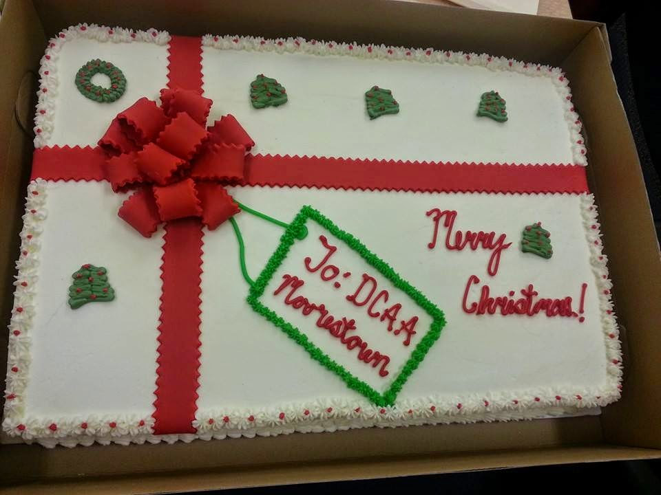 Christmas Sheet Cake  Cakes