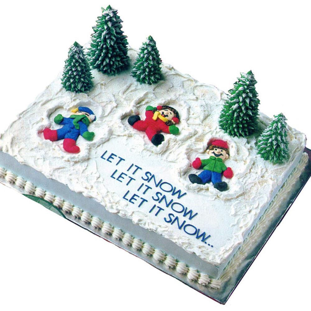 Christmas Sheet Cake  Snow Much Fun Cake