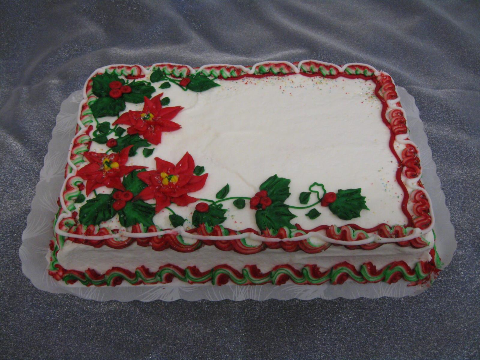Christmas Sheet Cake  munity Bakery