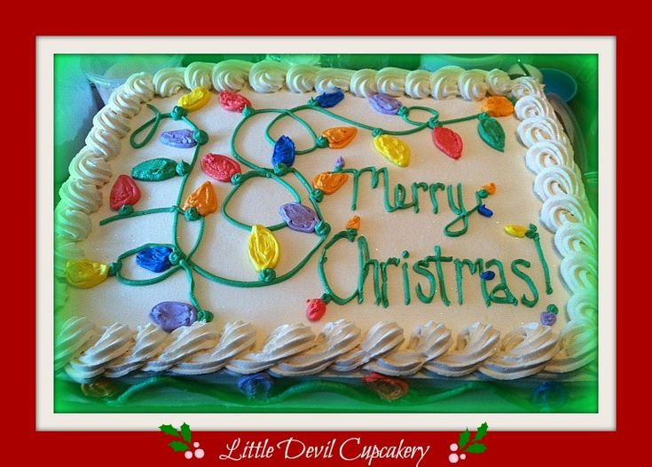 Christmas Sheet Cake  17 Best images about Sheet cakes on Pinterest