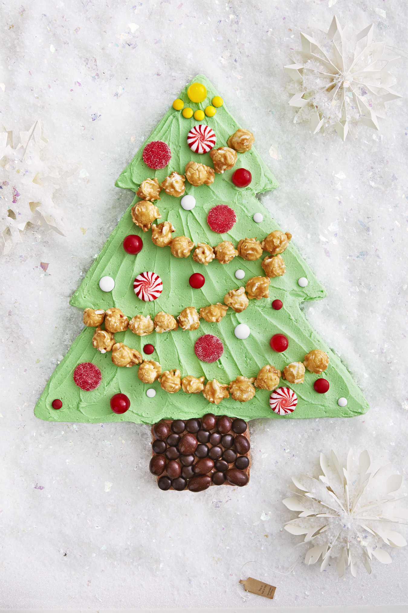 Christmas Sheet Cake  Best Christmas Tree Sheet Cake Recipe How To Make
