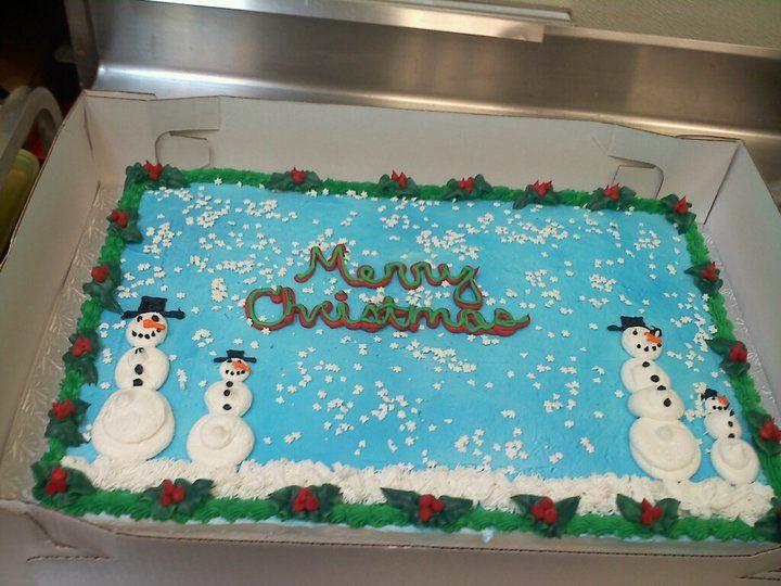 Christmas Sheet Cake  Christmas Sheet Cake Cakes Pinterest
