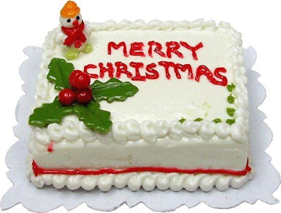 Christmas Sheet Cakes  Merry Christmas Sheet Cake