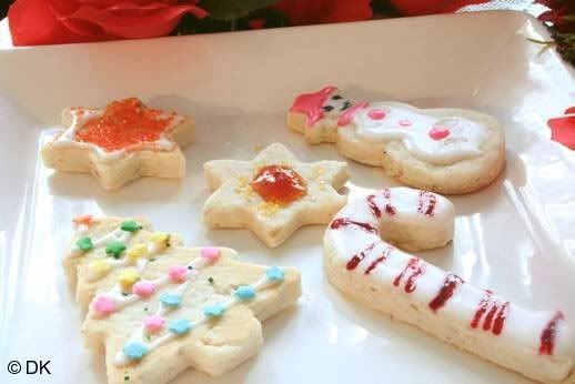 Christmas Shortbread Cookies Recipe  Christmas Shortbread Recipe