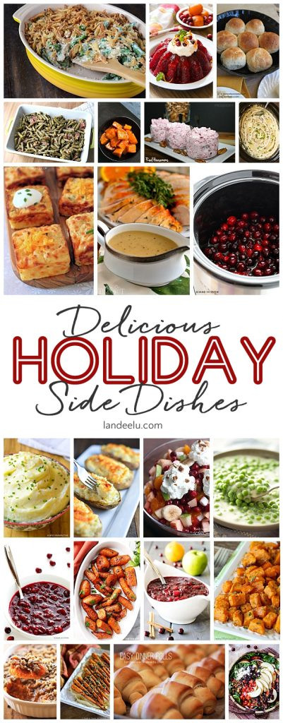 Christmas Side Dishes Recipe  Favorite Holiday Side Dishes landeelu