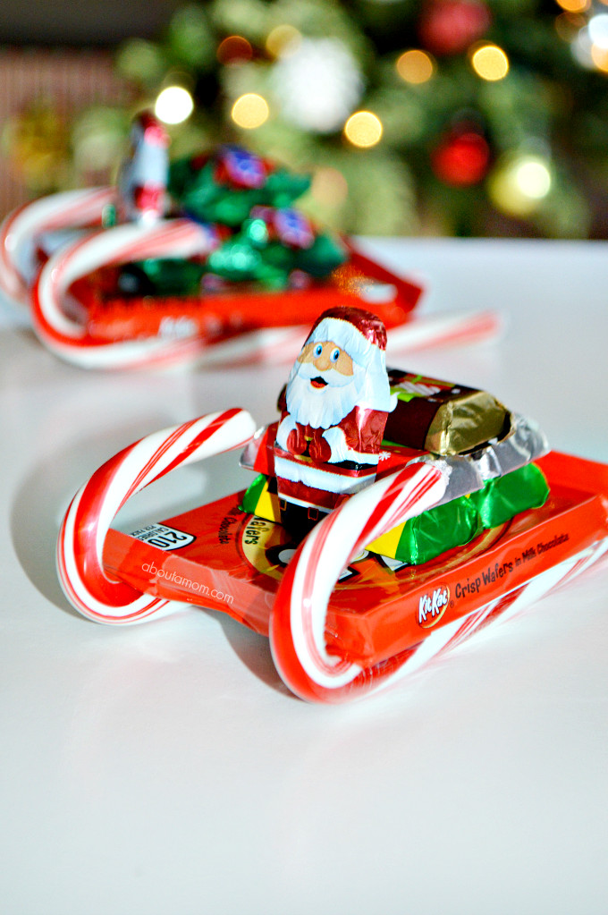 Christmas Sleigh Candy Craft  How to Make Candy Sleighs and Enjoying Holiday Candy in