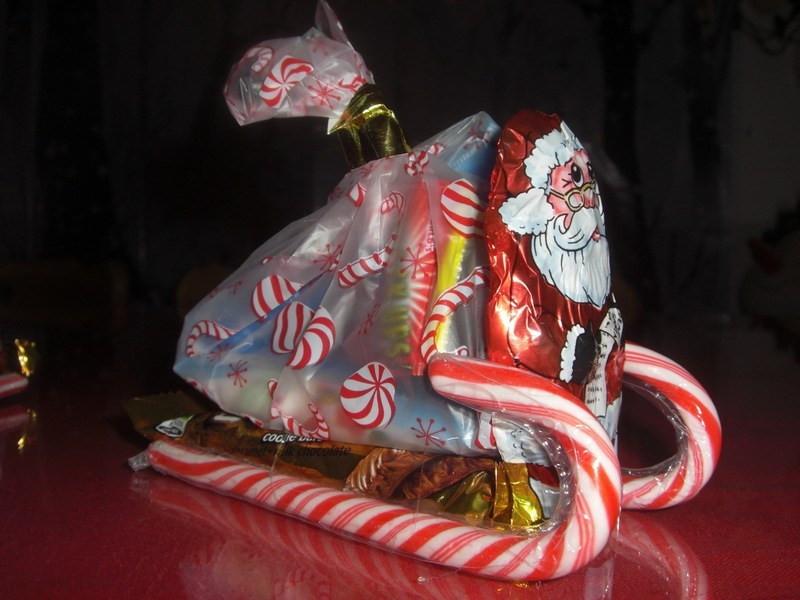 Christmas Sleigh Candy Craft  Santa s Candy Sleigh