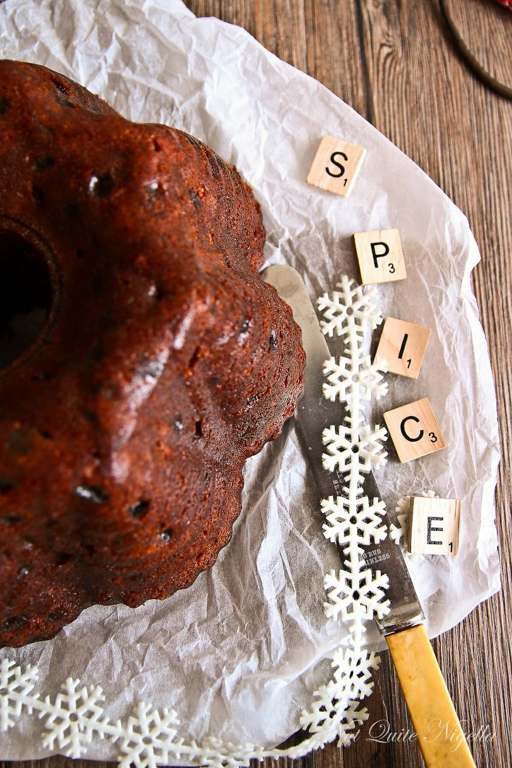 Christmas Spice Cake  Red Wine Chocolate Cake Recipe Not Quite Nigella