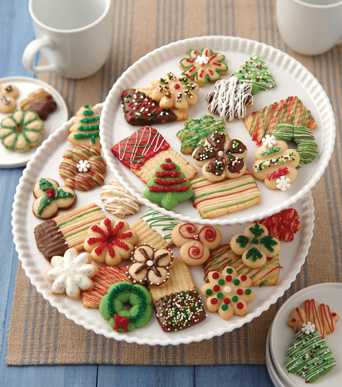 Christmas Spritz Cookies Recipes  Christmas Spritz Cookies