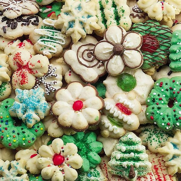 Christmas Spritz Cookies Recipes  Subsititute for a Cookie Press