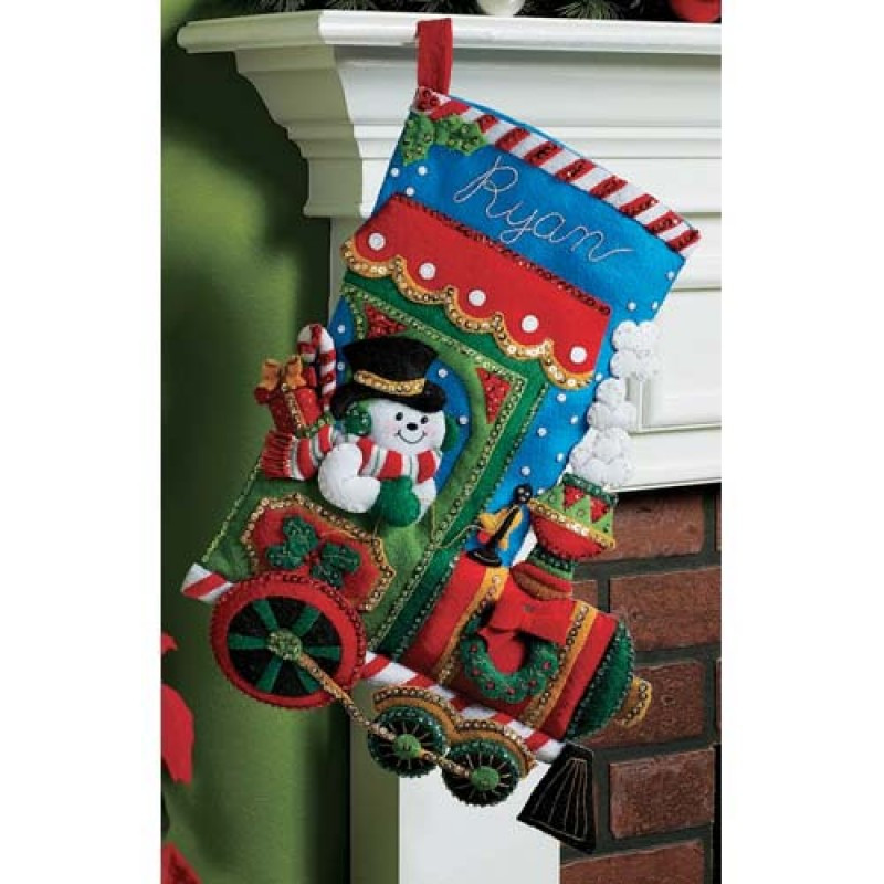Christmas Stocking Candy  Candy Express Bucilla Christmas Stocking Kit