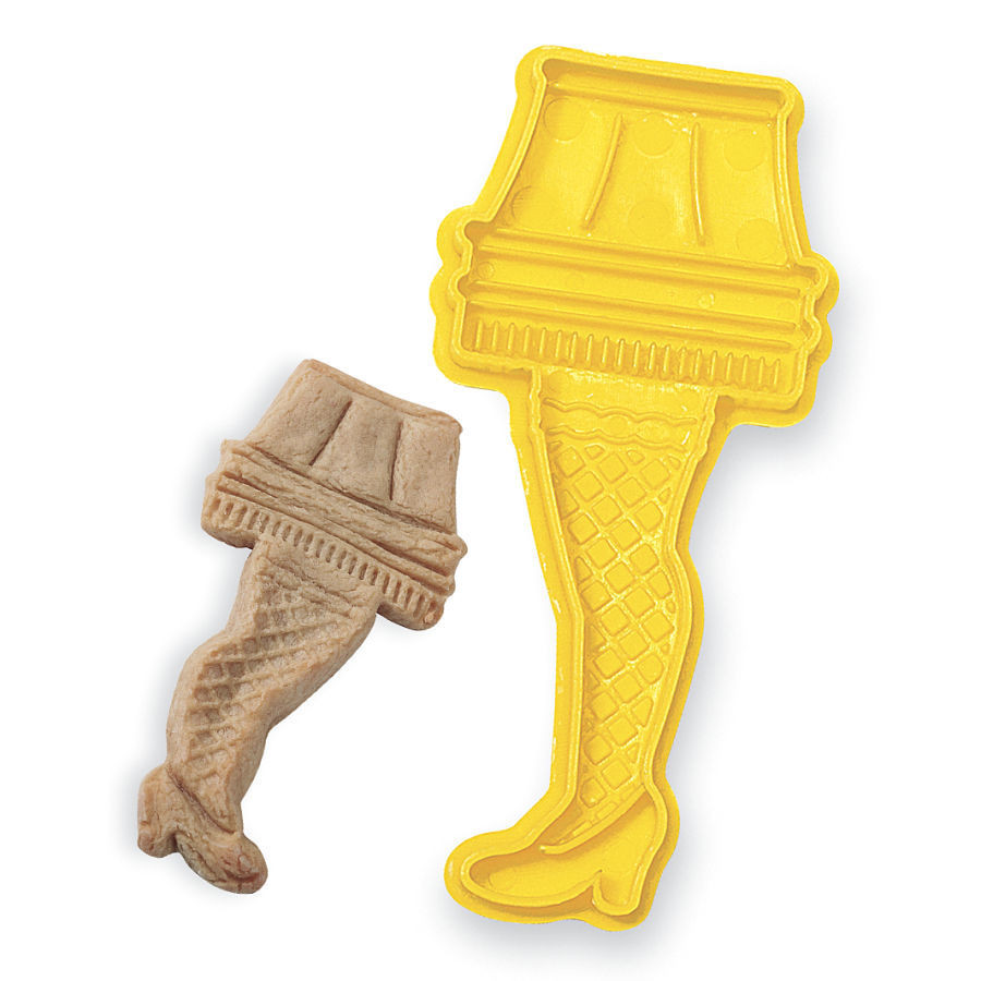Christmas Story Leg Lamp Cookies  Leg Lamp Cookie Cutter A Christmas Story Gifts