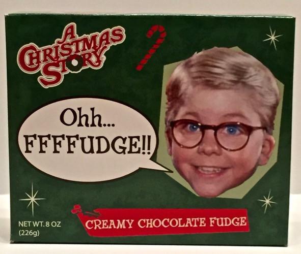 Christmas Story Oh Fudge  A Christmas Story Oh Fudge Creamy Chocolate