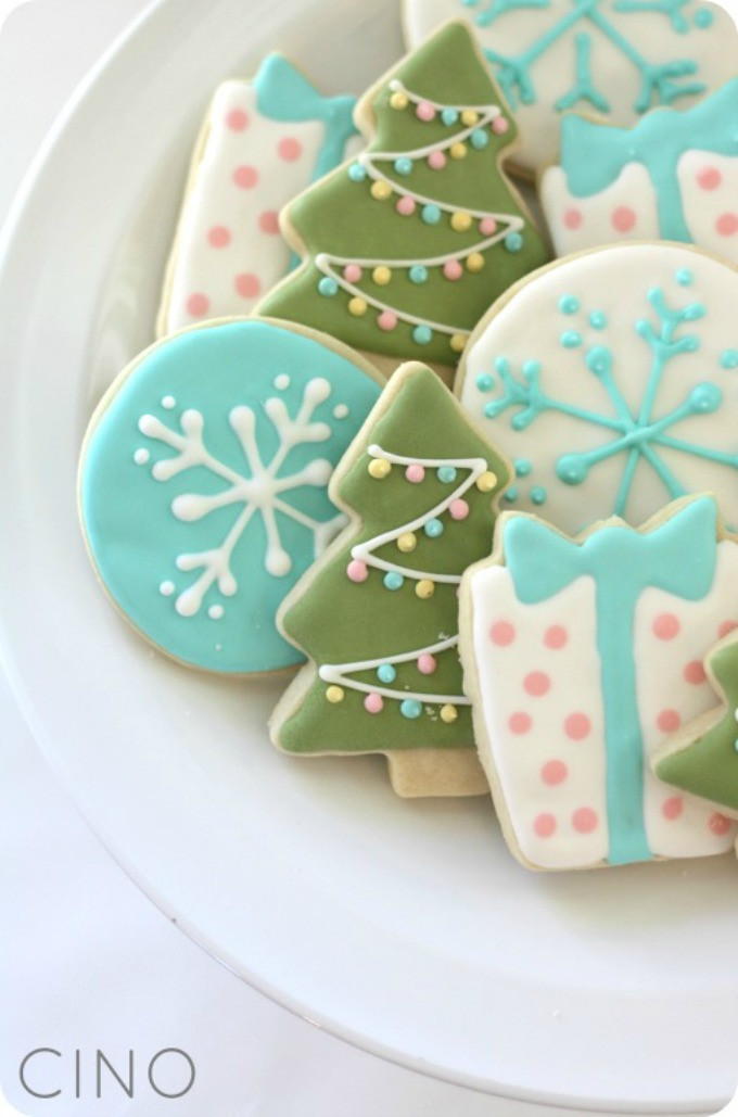 Christmas Sugar Cookie Icing Recipes  7 Christmas Sugar Cookies