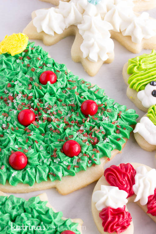 Christmas Sugar Cookie Icing Recipes  Christmas Cookie Frosting