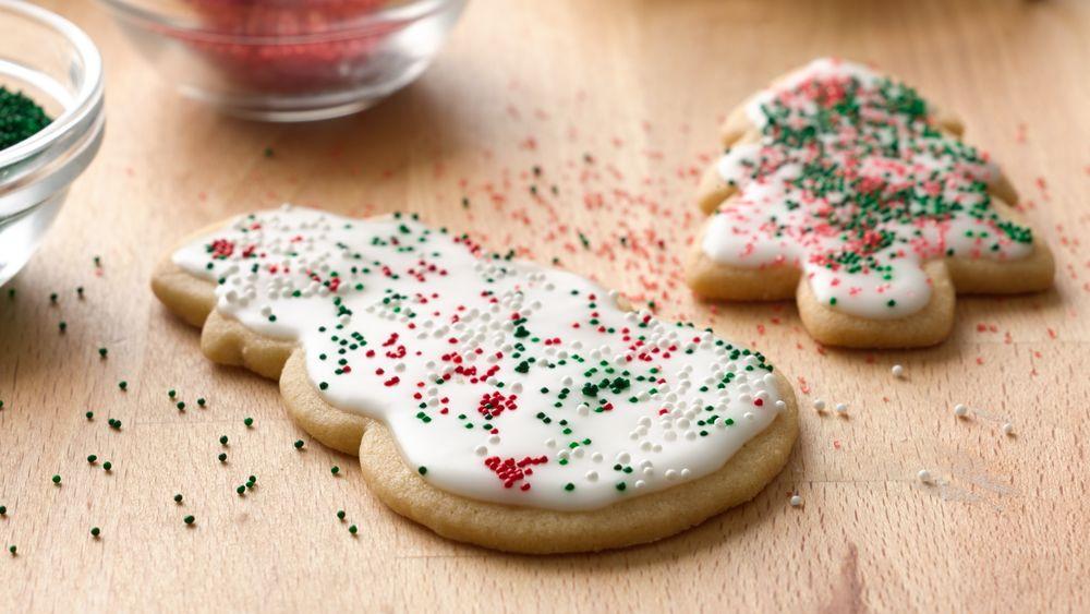 Christmas Sugar Cookies Pillsbury  Basic Iced Holiday Sugar Cookies recipe from Pillsbury