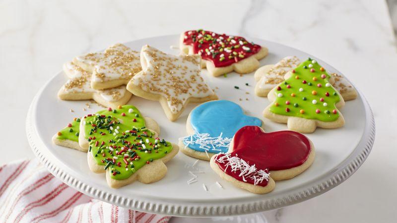 Christmas Sugar Cookies Recipe  Classic Christmas Sugar Cookie Cutouts Recipe