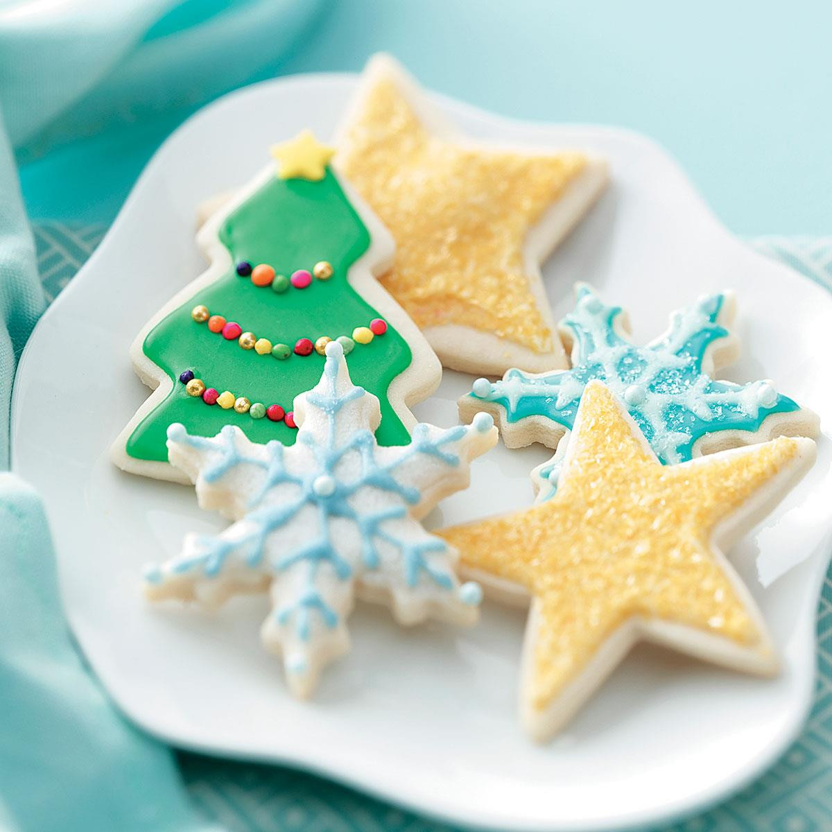 Christmas Sugar Cookies Recipes  Favorite Sugar Cookies Recipe