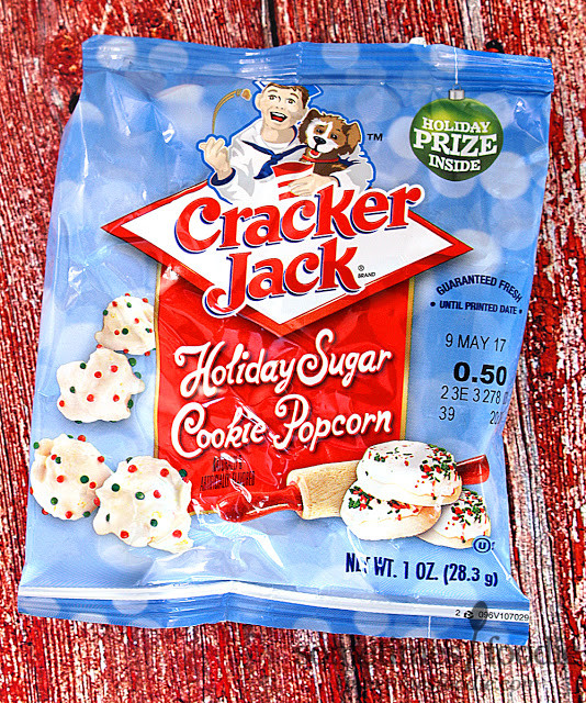Christmas Sugar Cookies Walmart  Sometimes Foo QUICKIE Holiday Sugar Cookie Cracker Jack