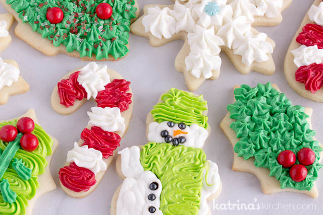 Christmas Sugar Cookies With Icing  Christmas Cookie Frosting